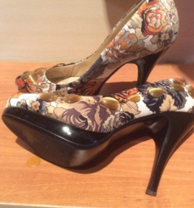 Туфли женские нарядные.Нат.кожа