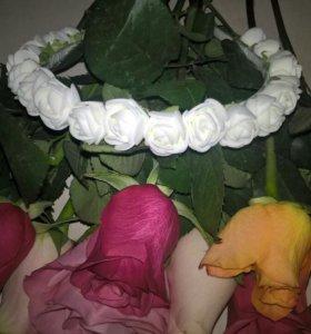 Ободочки цветочные!!!