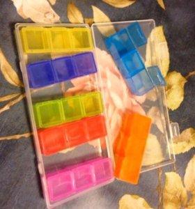 Новые контейнера для таблеток