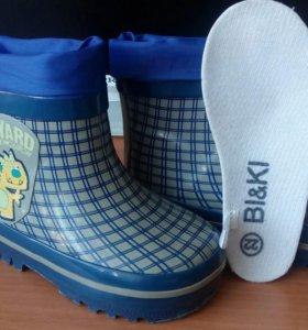 Ботинки новые,сапожки б/у(пару раз)