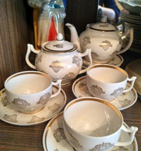 Чайный сервиз Дулево