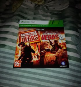 2 игры Rainbow Six Vegas Xbox 360