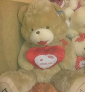 Медведь плюшевый игрушки