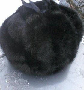 Шапка-ушанка из натурального меха