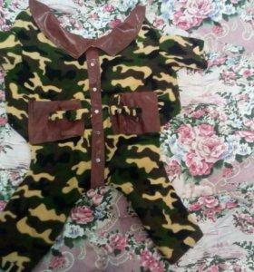Куртка на пит буля или амстафа