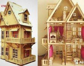 Кукольный дом 76 см и Крепость с рыцарями