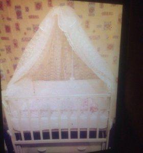 Кроватка для принцессы
