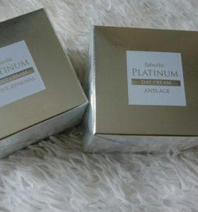 Омолаживающий дневной крем и ночной крем Platinum
