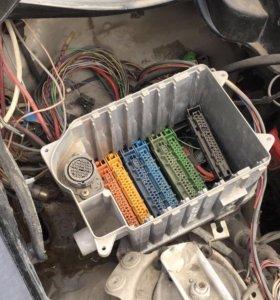 Двигатель коробка и проводка
