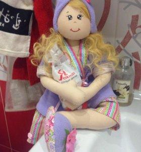 Куколка держатель полотенец, туал.бумаги и др.