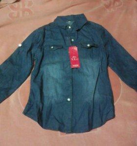 Рубашка джинсовая р. М