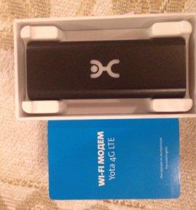 Wi-fi модем Yota 4G LTE новый