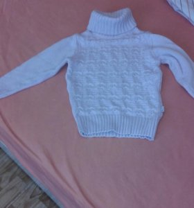 на3-4года отл. свитер