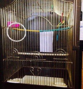 Клетка для птиц+роддом🐣