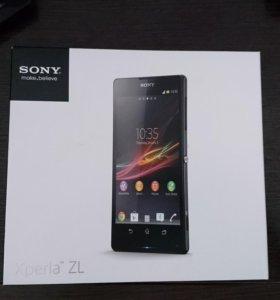 Продам телефон Sony Xperia ZL Black