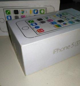 Коробка от iPhone 5s white