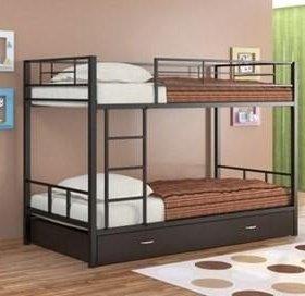Двухъярусная кровать с ящиками Гранада 1