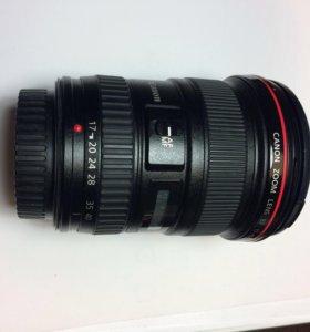 Объектив Canon 17-40f4