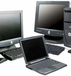 Компьютерная помощь ремонт телевизоров мониторов