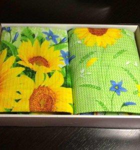 полотенца в наборе