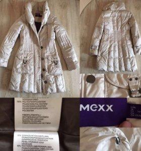 Пуховая куртка-пальто MEXX