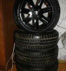 Комплект колёс литьё+покрышки