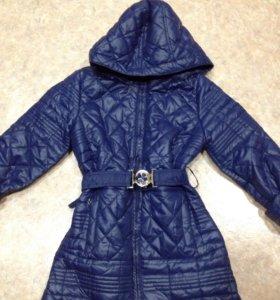 Куртка девочка 4-6лет