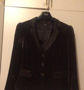Пиджак велюровый женский