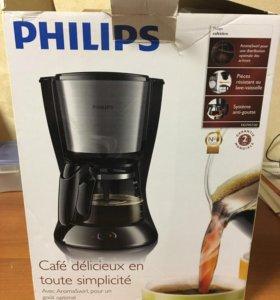 Новая кофемашина Philips HD 7457