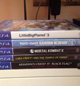 Playstation 4/игры