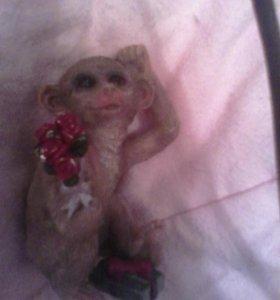 обезьянка статуэтка на подарок