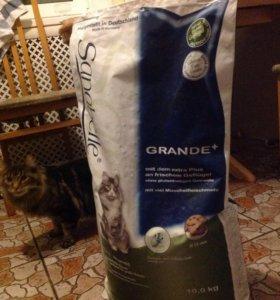 Корм для крупных пород кошек Sanabelle 10kg