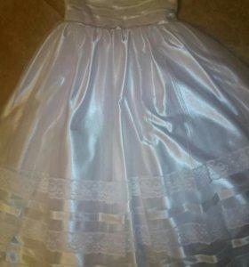Нарядное платье для девочки, размер 110