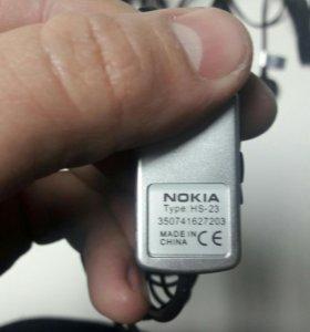 Продам наушники Nokia