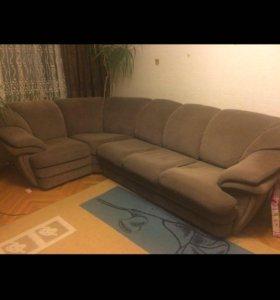 Угловой диван -кровать