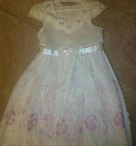Платье для девочки, размер 100