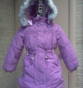 Новое зимнее пальто Олдос