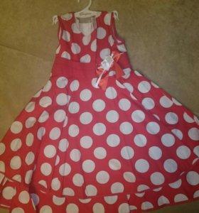 Платье для девочки, размер 116