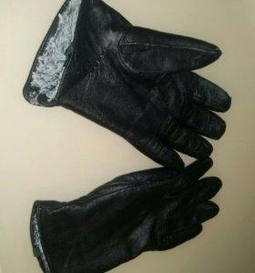 Мужские перчатки (с мехом)