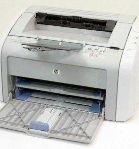 Принтер лазерный HP 1020