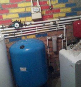 Отопление и водопровод в вашем коттедже