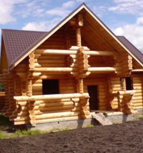 Строим бани, дома  из оцилиндрованного бревна