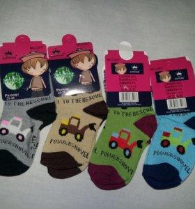 Носки новые для мальчиков