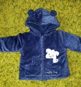 Детская куртка 6-9 месяцев