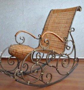 Кресло кованное