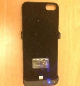 Чехол-зарядка для айфона5s