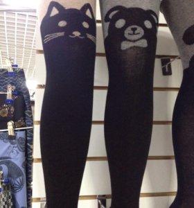 Новые модные детские колготки Панды