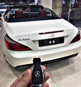 Флэшка под ключ Mercedes 32Гб