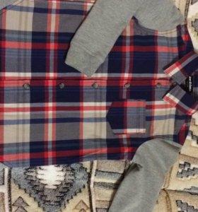 Рубашки новые 110 размер