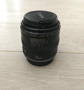 Объектив на фотоаппарат